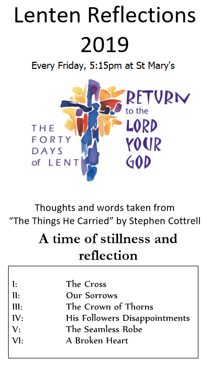 Lenton Reflections 2019 Flyer